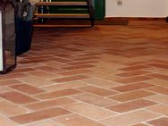 Bodenplatten Bodenziegel Bodenfliesen Backstein alte Mauersteine natürlich ursprünglich als Fliese g - Halle (Saale)