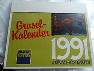 Grusel Kalender von 1991 - Lichtenau (Sachsen)