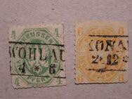 AD-Preußen 1861,4+6 Pf..,MI:DE 14-15,  Lot 569