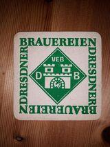 VEB DB Dresdner Brauereien Bierdeckel BD DDR