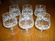 6 Cognac-Gläser - Melsungen
