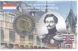 2 Euro,Luxemburg 2005 Gedenkmünze Henri&Adolphe in Coincard,Lot 707