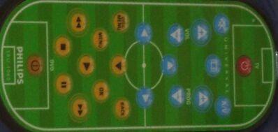 Universal Philips Fernbedienung für TV DVD Fußball mit Dosenöffner - Ingolstadt Zentrum