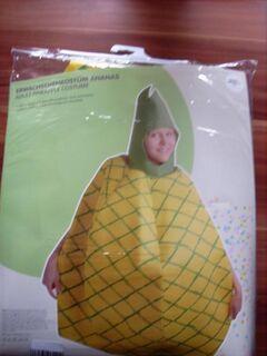 Ananas Erwachsenen-Kostüm Einheitsgröße - Achim