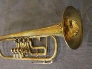 Deutsche Elaton B - Konzert - Trompete inklusive Koffer - Hagenburg