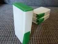 Süßstoffspender, Taschensüßstoffspender, Kunststoff, neu, weiß/grün - Gelsenkirchen