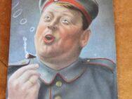 Feldpost, Soldaten-Humor Noch mehr von der Sorte Militär / WWI Postkarte 1915 - Zeuthen