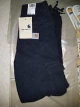 Carhart Thrift Pant Newcomb Cotton Drill 8,5 Oz Black Overdyed W28 L34 ISBN 416316189043428 Kleidung NEU VERKAUFSWARE