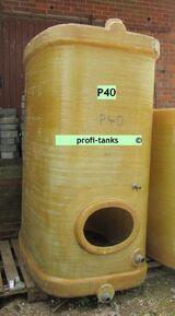 P40 Polyestertank 3.000 L GFK-Tank ehem. Weintank Wassertank Molketank Futtertank Rapsoeltank Melassetank Regenwassertank