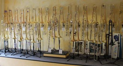 Bach Ventilposaune in Bb inkl. Koffer und Mundstück, Neuware - Hagenburg