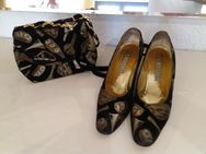 Italienische Damenschuhe mit passender Handtasche - Zell (Fichtelgebirge)