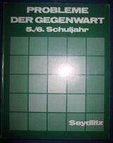 """""""Probleme der Gegenwart an Beispielen aus Europa"""" von Christian Degn, Erwin Eggert und Albert Kolb, Ferdinand Hirt Verlag, 140 Seiten, gedacht für 5./6. Schuljahr, stammt aus 1975, ASBN: B0023TZOP2"""