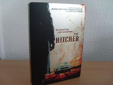 The Hitcher Steelbook DVD Uncut o FSK.Sammlerversion NEU - Kassel