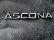 Ascona Emblem, Schrift. Original mit Teilenr. - Kassel