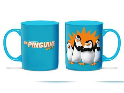 Die Pinguine von Madagascar Kaffeebecher Splash NEU OVP - Celle