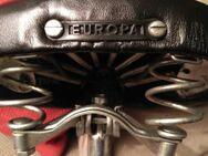 Wie neu! Vintage Fahrrad Sattel Europa 50er / 60er schwarz - Nürnberg
