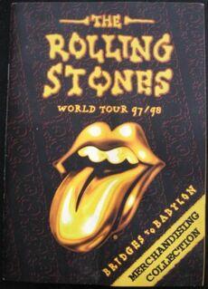 Rolling Stones - Tour 1997-98 (Merchandising Collection) - Niddatal Zentrum