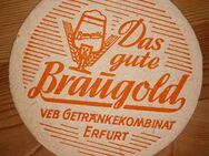 VEB Getränkekombinat Erfurt Braugold Bierdeckel  BD Thüringen - Nürnberg