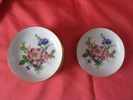 Konfekt- oder Gebäck-Teller, Fürstenberg, Vintage, 8 St., Blumenmuster, wie neu - Cremlingen