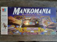 Mankomania Wie verjubelt man eine Million? MB Spiele 601402500 ab 10 Jahre 2-4 Spieler 1985 Milton Bradley GmbH under Berne & Universal Copyright Convention Made in Waterford Republic of Ireland ISBN 5010994025007 Brettspiel VERKAUFSWARE