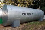 S1 gebrauchter 40.000 L Palmoeltank Stahltank isoliert Heizspirale Pflanzenoeltank Futtermitteltank