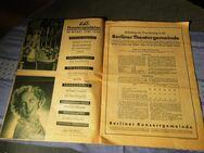 Programm- Mitteilungen der Deutschen Arbeitsfront Gau Berlin Juni 1939 / KdF - Zeuthen