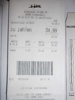 Halogen-Deckenfluter ~ Selbstabholer in 35110 Frankenau - Frankenau
