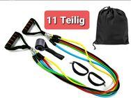 Expander Elastische Gymnastikband Widerstandsbänder Latex Fitnessband 11 Teilig - Villingen-Schwenningen