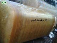 P79 gebrauchter 6.000 L Polyestertank GFK-Tank Juno-Tank Wassertank Rapsoeltank Futtermitteltank Melassetank Molketank Regenauffangtank AHL-/ASL-Tank Sickersafttank Lagertank - Nordhorn