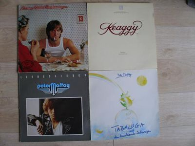Schallplatten LPs Vinyl a-ha Peter Maffay Marius Müller-Westernhagen Jennifer Holliday Kenny G Viktor Lazlo Mark Heard Phil Keaggy 2nd Chapter of Acts Pops Staples Semaja Live - Flensburg