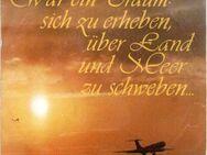 Fliegerlieder, 45er (Single) der ehemaligen DDR-Fluggesellschaft Interflug - Frankfurt (Main) Sachsenhausen-Süd