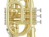 Jupiter B - Taschentrompete, Mod. JTP 516-L inkl. Koffer Neuware