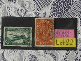 Deutsches Reich Flugpost 1918 Mi.Nr.111-12,Lot 92