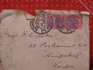 Ägypten Briefumsch.5M,1895,Mi:EG 38ax,  Lot 494
