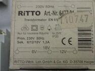 Ritto 647701 Transformator 6,12,18V Neu in OVP. - Berlin