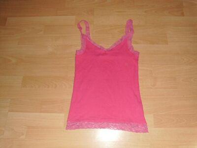Top von colours of the world, pink mit Spitze, Gr. 36/38 - Bad Harzburg