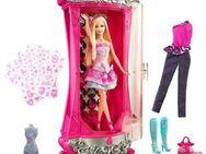 Barbie - Modezauber in Paris - Glitterizer Kleiderschrank - Barbie und viel Zubehör - Neuenkirchen (Nordrhein-Westfalen)