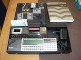 Sharp CE-125 Cassette und Drucker mit Handbuch und Zubehör