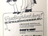Vintage Faschingskalender 1977 Schwabinger Bräu - Seefeld (Bayern)