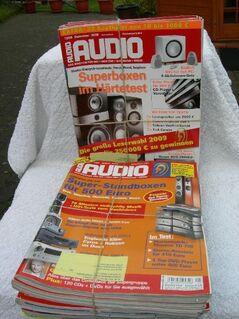 STEREO, AUDIO, STEREOPLAY Fachzeitschriften zu verkaufen - Neunkirchen (Nordrhein-Westfalen)