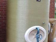P60 gebrauchter 4.000 L Polyestertank GFK-Tank Staffelstein-Tank oberirdisch stehend Lagerbehälter Wassertank AHL-/ASL-Tank Flüssigfuttertank Molketank Melassetank Rapsöltank Regenwassertank - Nordhorn