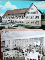 Gasthof-Cafe Sonne in Röt - 2 alte Ansichtskarten