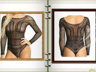 # Neuer Bodysuit # Nylon mit Perlen in Schwarz,Größe - XS - XL - Meiningen