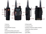 BaoFeng * UV-5RA * 2M/70cm Walkie-Talkie 136-174/400-520 Mhz Hand-Funkgerät PMR CTCSS 2way Dual - Kassel
