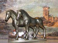 Zinn Pferde auf Zinnsockel - Spraitbach