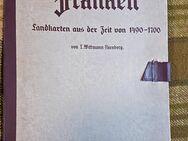 Franken Landkarten 1490-1700 von 1940 Nürnberg Bayern Topografie Stadtplan Mappe Geschichte - Nürnberg
