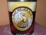 Nostalgische Kaffeedose mit der Aufschrift Alex Meijer & Co / alte Blechdose - Zeuthen