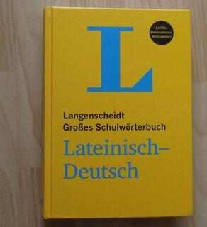 Langenscheidt Großes Schulwörterbuch Latein - Neuried (Bayern)