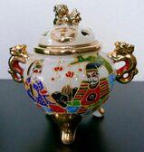 Chinesische Räucherstäbchen-Vase
