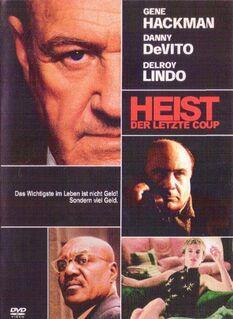 """HEIST Der letzte Cop """"DVD"""" Thriller mit Gene Hackman & Danny DeVito - Andernach"""